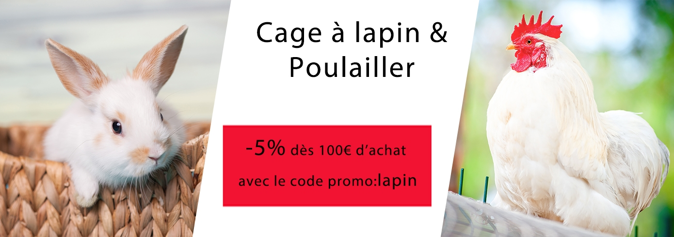 Cage lapin - Poulailler
