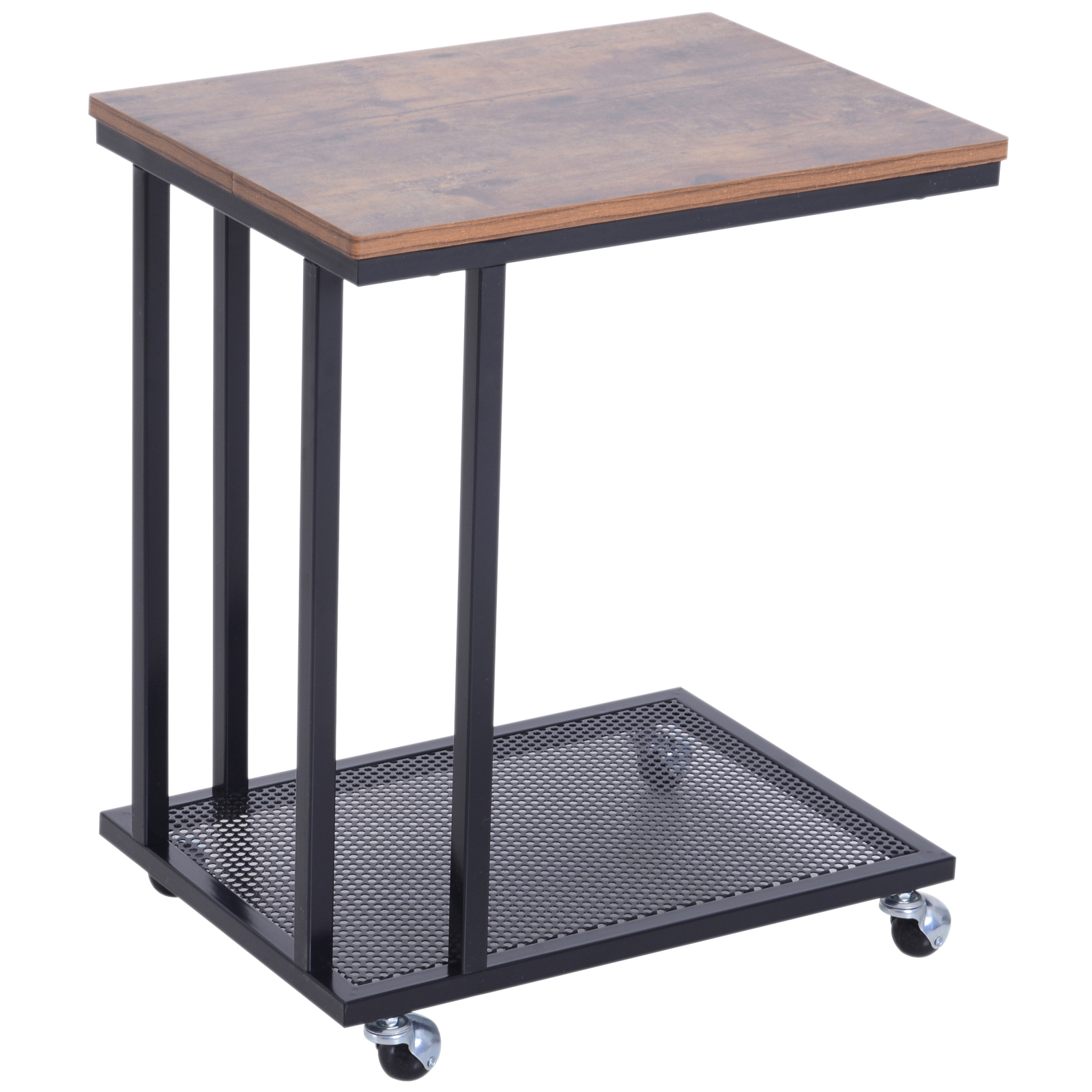 Table basse table d'appoint Vintage style industriel