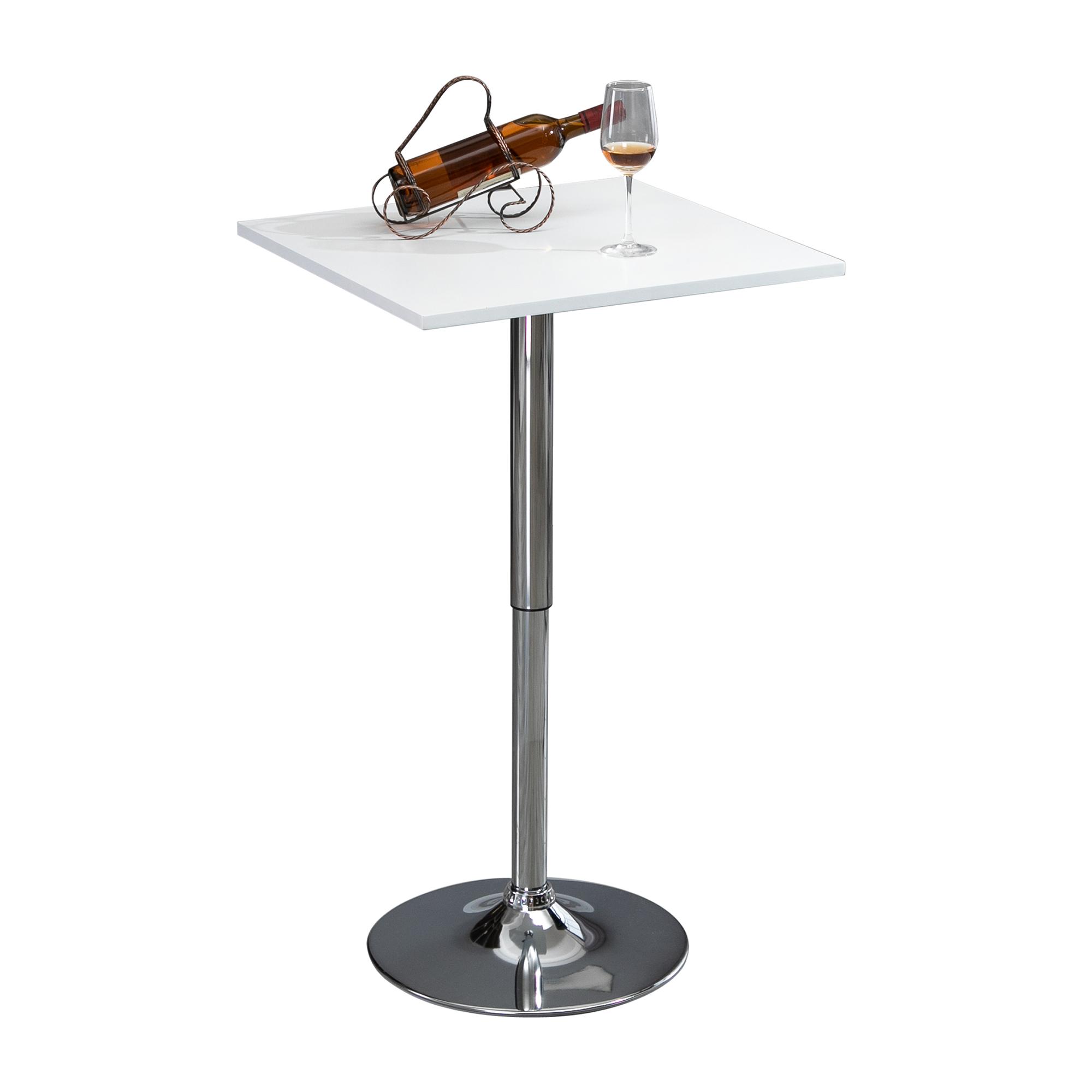 Table de bar table bistro chic hauteur réglable style contemporain