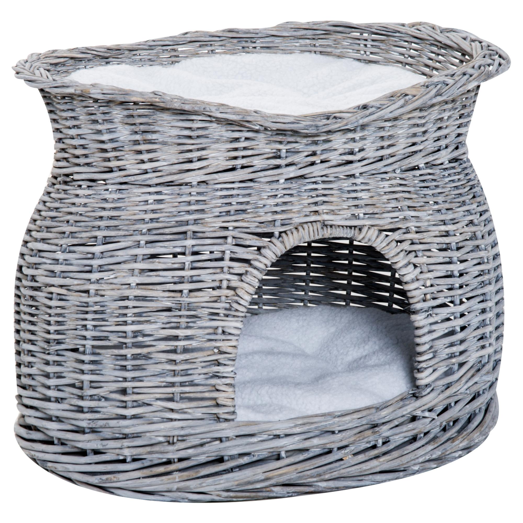 Grand Coussin Pour Exterieur eur49,90 pawhut niche pour chat extérieur intérieur lit